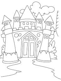 Easy disney castle drawing , transparent cartoon, free cliparts & silhouettes. Disney Castle Coloring Pages Printable Coloring Home