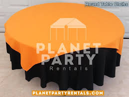 08 round black tablecloths with overlay van nuys