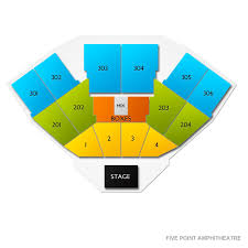 Five Points Irvine Seating Chart Fivepoint Amphitheatre Tickets