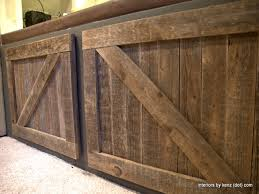How To how to make a barn door images : Hanging barn doors, diy barn door cabinet closet barn doors ...