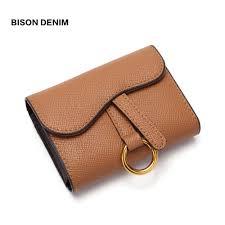 Aliexpress.com : Buy <b>BISON DENIM Cow Leather</b> Women Wallets ID ...