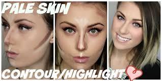 contouring light skin contouring light skin