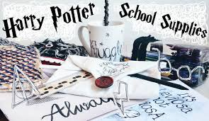 diy harry potter school supplies organisation ideas 10 easy crafts for back to school adela you