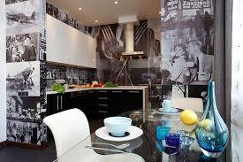 Wallpaper Kitchen Ideas Photo