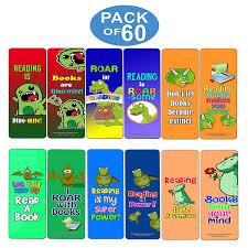 Amazoncom Creanoso Dinosaur Kingdom Reading Bookmark For Kids 60
