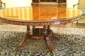 70 inch round dining table trends with luxurious walnut and pearl inlaid inspirations