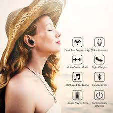 tws wireless earphones waterproof 5 0 bluetooth earbuds mini invisible stereo earphone with microphone for phone