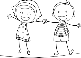 Anime Boy And Girl Coloring Pages Download Cool Of Boys Girls 0