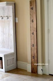 Capture Your Childs Growth With A Diy Growth Chart Diy
