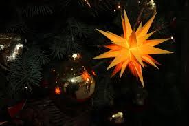 Dateiweihnachtsstern Auf Dem Weihnachtsbaum Chemnitz Img