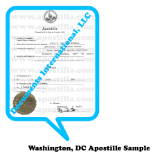 Washington D C Apostille Apostilla Com