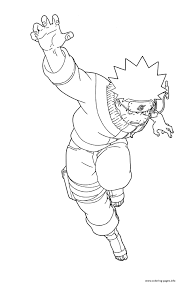 Educations Christmas Naruto Coloring Pages Printable Coloring Page