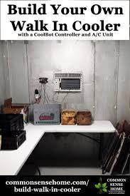 household walk in cooler