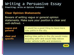 writing workshop writing a persuasive essay assignment prewriting  20 writing a persuasive essay prewriting