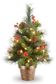 15 Small Christmas Trees Decorated  Ideas For Mini Holiday Trees Christmas Trees Small