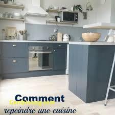 ... Cuisine Rustique Repeinte Awesome Moderniser Cuisine Rustique Nouveau  Relooker Une Cuisine Rustique ...