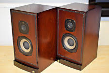 speakers vintage. castle durham vintage bookshelf speakers made in england - matched pair e