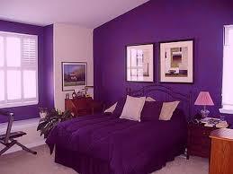 Purple Bedroom Impressive Decoration