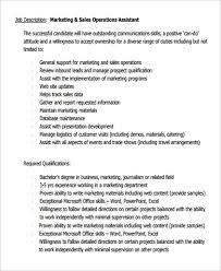 Retail Sales Associate Definition Sample Sales Assistant Job Description 9 Examples In Pdf