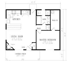 one bedroom house floor plans style house plan 1 beds 1 baths sq ft plan 1 5 bedroom house floor plans