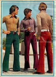 Image result for flared trousers men