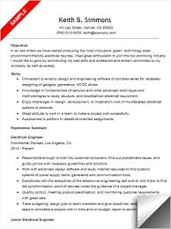 Electrical Engineer Resume Sample Adorable Electrical Engineering Resume