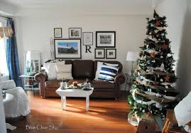 Of Living Rooms Decorated For Christmas Modern Living Room Decoration For Christmas Of Christmas