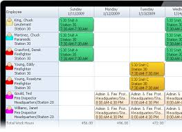 Sample Work Schedule For Employees Scheduling Software For Ems 911 Ambulance And Medical