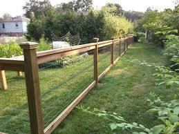 wood and wire fences.  Wood Cedar Fence With Pressure Treated Posts And 3 Ft Welded Wire Sandwiched  Between 1x4s Along The Top 1x2s Sides Of Panels With Wood And Wire Fences C