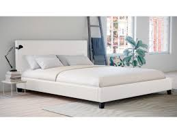 decoration white leather beds cozy limelight dorado faux bed from the sleep station and also