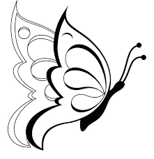 Butterfly Outline Free Download Best Butterfly Outline On