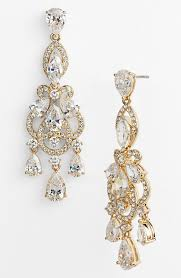 large size of these gold and crystal chandelier earrings will perfect for c j crew colorful