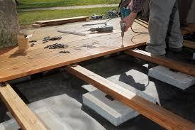 Construire Une Terrasse En Bois Toutes Les Tapes