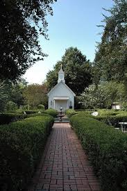 the perfect wedding venue for great pictures chapel of the garden valdosta ga