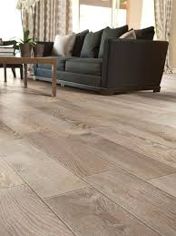 Modern Living Room Floor Tile that looks like wood .... a nice alternative