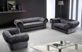 modern fabric sofa set. Modren Set Divani Casa Metropolitan  Modern Fabric Sofa Set With Tufted Acrylic  Crystals  For