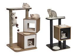 modern cat tree furniture. Modern Cat Tower Sneak Peek New Vesper Furniture From Hagen Coming Soon Tree E