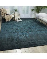 E Nourison Nightfall Hunter Green Area Rug  5u00276 X 8u0027 5u0027