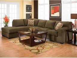 coffee table and microfiber sectional sofa with side table also table lamp and french windows with interior paint ideas plus sectional couches and area rug
