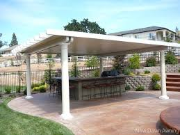 free standing patio covers metal. Free Standing Patio Covers Intended For Cover Plan 5 Metal