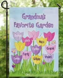 custom garden flags. Modren Flags Wholesael Personalized Garden Flag Custom Monogram Yard Flower Outside  Gardening Decoration Party Flag Grandma DIY Gifts  With Flags L