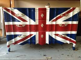 british flag furniture. British Flag Furniture To Die For Union Jack Dresser Painted D