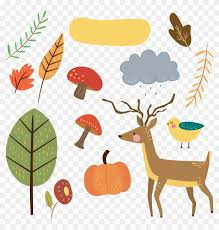Free Critter Autumn Planner Stickers And Clip Art Autumn Stickers