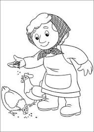 Small Picture Postman Pat the delivery coloring pages for kids printable free