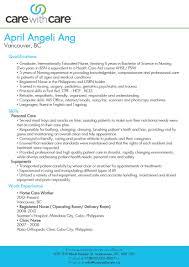 Good Caregiver Resume Sample Senior Caregiver Resume Sample Resume For Study 30
