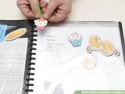 How To Make A Recipe Book How To Make A Cookbook Scrapbook 9 Steps With Pictures