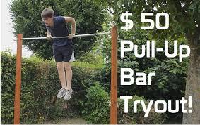 diy backyard pull up bar tryout