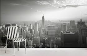 empire state skyline city room wall murals