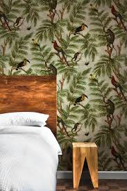 jungle wallpaper for walls. Delighful Jungle Miki Rose Jungle Print Wallpaper With For Walls M