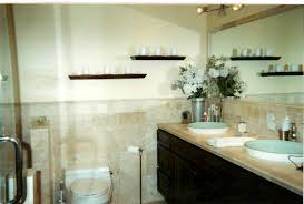 Spa Like Bathroom With Travertine We Designed Our Small Master Spa Like Bathrooms Small Spaces